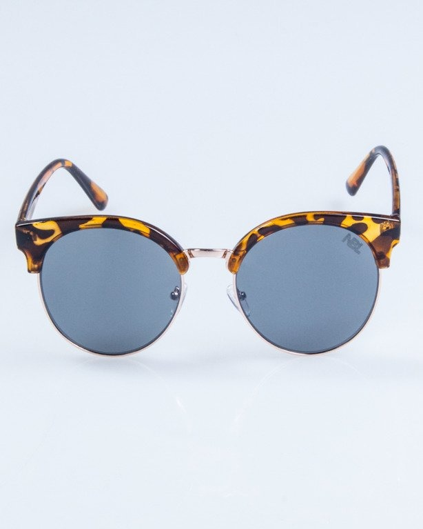 OKULARY LADY CAT PANTERA BROWN BLACK 733