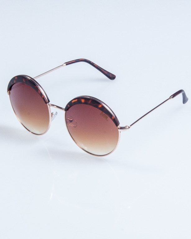 OKULARY LADY COSMO GOLD-BLACK BROWN 701
