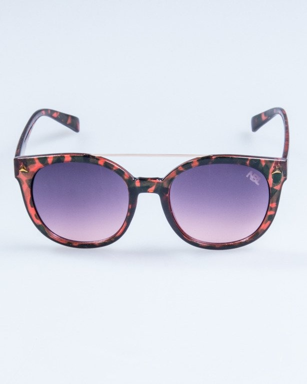 OKULARY LADY GET PANTERA RED FLASH BLACK-PINK 726