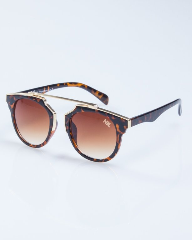 OKULARY LADY ROSH PANTERA GOLD-BROWN BROWN 925