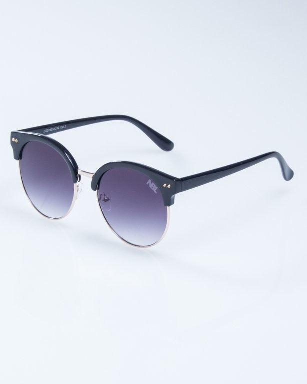 OKULARY LADY WILD BLACK BLACK 939