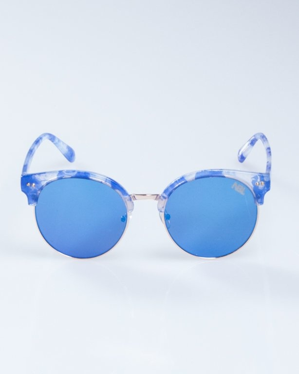 OKULARY LADY WILD SPOT BLUE BLUE MIRROR 945