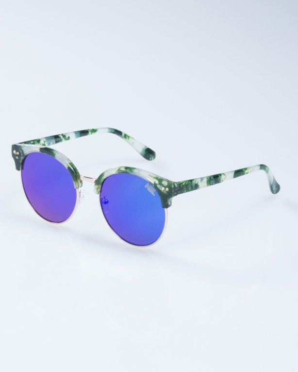 OKULARY LADY WILD SPOT GREEN GREEN MIRROR 944