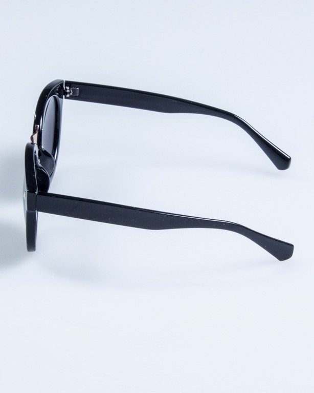 OKULARY LADY XXX BLACK FLASH BLSCK 694