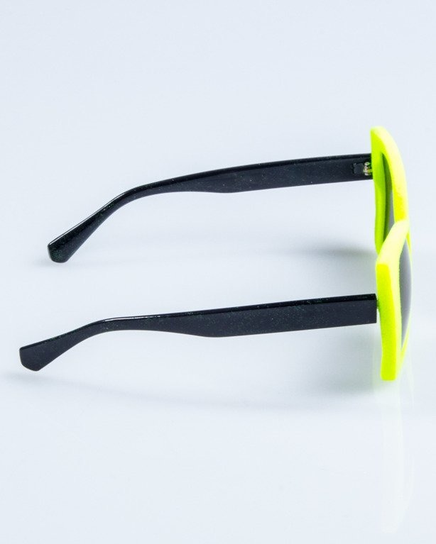 OKULARY LADY ZAMSZ NEON-BLACK VIOLET MIRROR 743