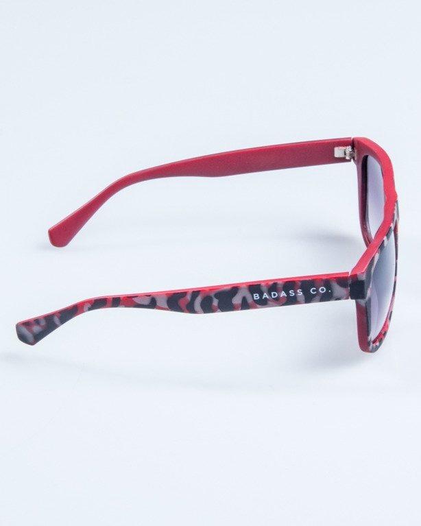 OKULARY MODERN CAMO RED MAT BLACK TONAL 705