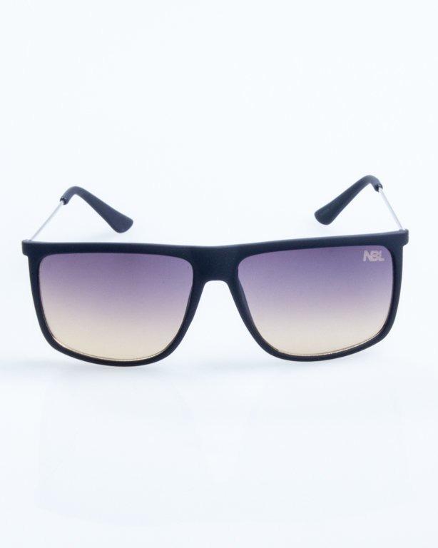 OKULARY NEEDLE BLACK RUBBER BLACK-YELLOW 790