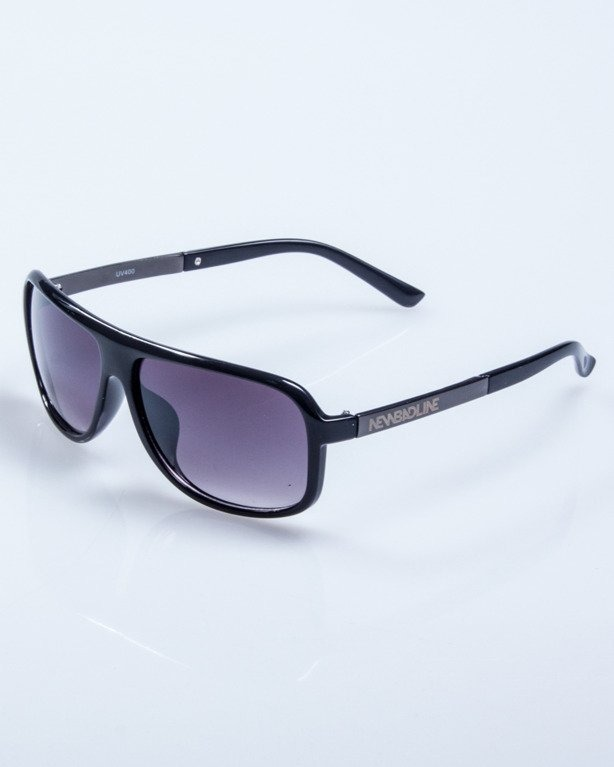 OKULARY RIDER BLACK FLASH METAL BLACK 539