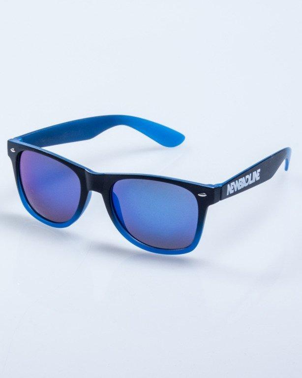 OKULARY TONAL BLACK-BLUE MAT BLUE MIRROR 577