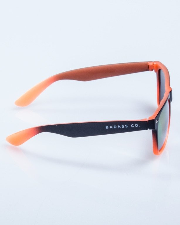 OKULARY TONAL BLACK-ORANGE MAT RED MIRROR 575