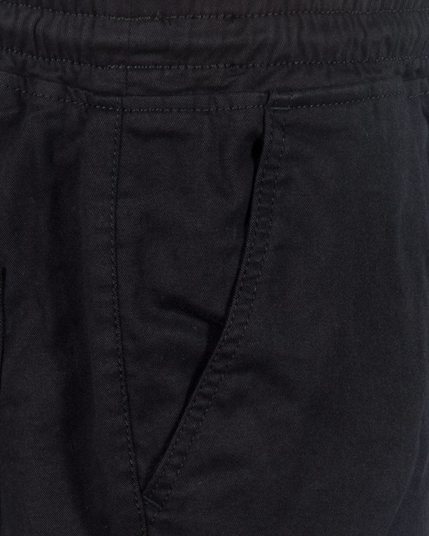 SPODNIE CHINO JOGGER ICON BLACK