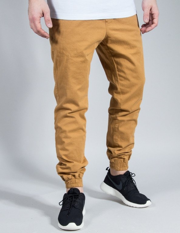 SPODNIE CHINO JOGGER ICON HONEY