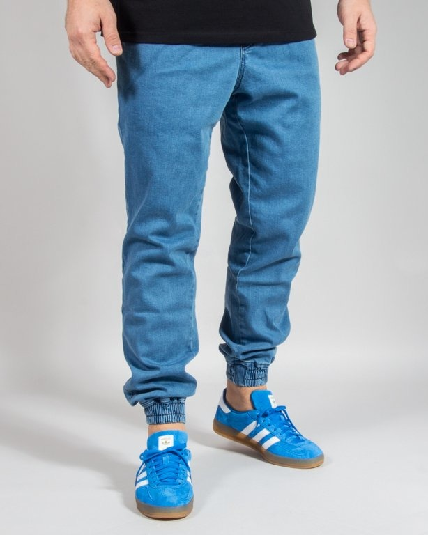 SPODNIE JEANS JOGGER ICON LIGHT