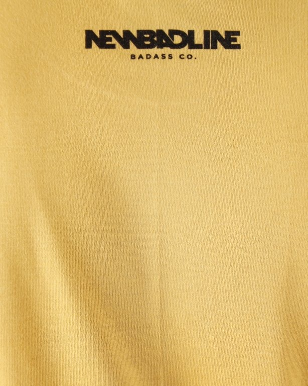 T-SHIRT DRAW YELLOW