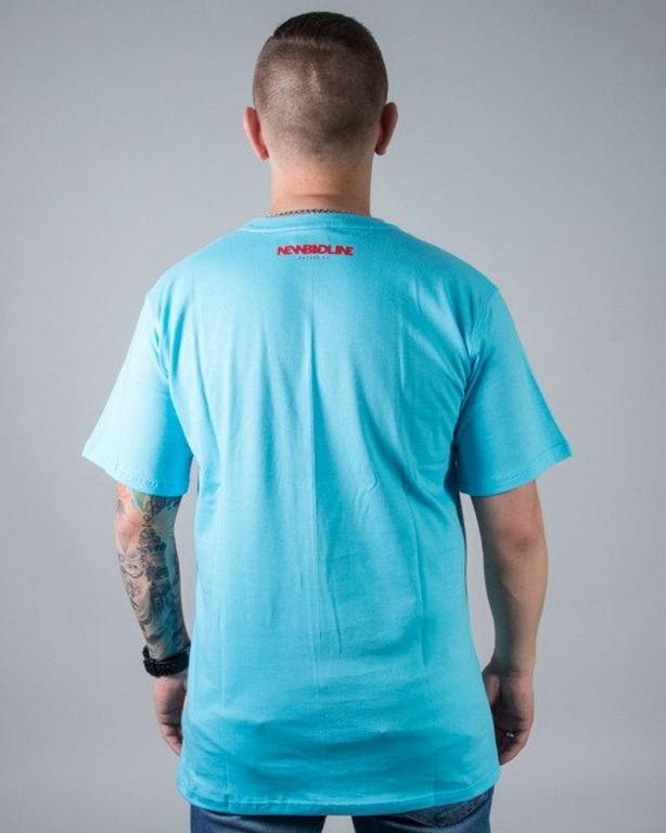 T-SHIRT NEW ICON LIGHT BLUE