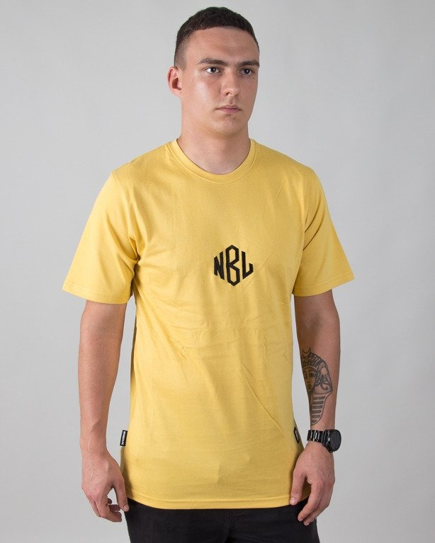 T-SHIRT ROMB YELLOW